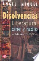 libro Disolvencias