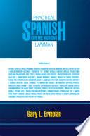 libro Practical Spanish For The Working Lawman