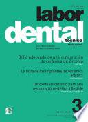 libro Labor Dental Técnica Vol.22 Abril 2019