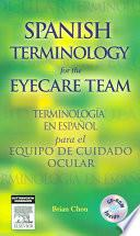 libro Spanish Terminology For The Eyecare Team