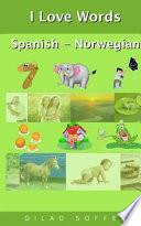 libro I Love Words Spanish   Norwegian
